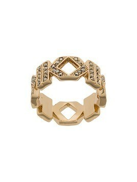 Karl Lagerfeld Double K ring - Gold