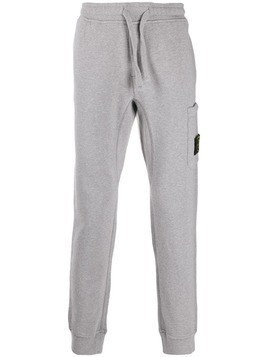 Stone Island compass badge track pants - Grey