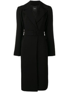 Theory belted trench coat - Black