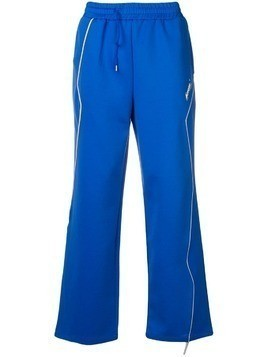 Ader Error flared sweatpants - Blue
