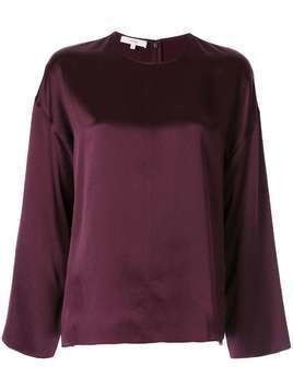 Vince front seam blouse - Red