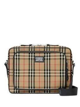Burberry Vintage check messenger bag - Brown