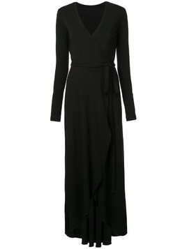 Nicole Miller jersey wrap dress - Black