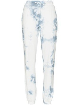 Ninety Percent tie-dye boy-fit sweatpants - Blue
