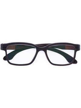 Herrlicht square frame glasses - Brown