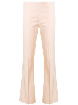 Meme slim cropped trousers - Pink