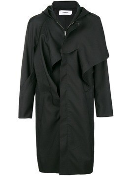 Chalayan hooded mac - Black
