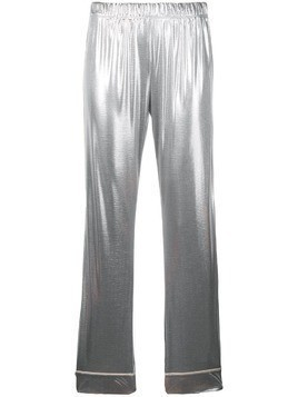 Love Stories metallic pyjama pants - Silver