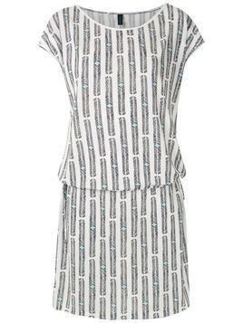 Lygia & Nanny Shiva printed jersey dress - White