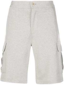 Brunello Cucinelli straight-leg cargo shorts - White