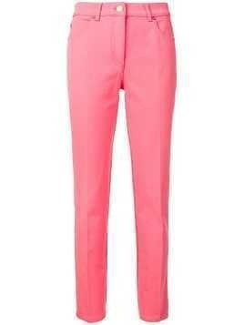 Escada tailored straight leg jeans - Pink