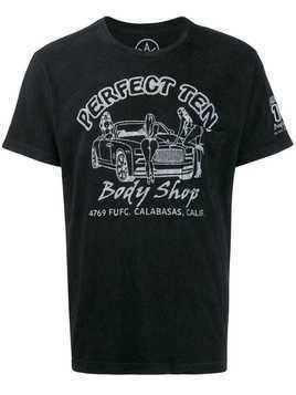 Local Authority Body Shop print T-shirt - Black