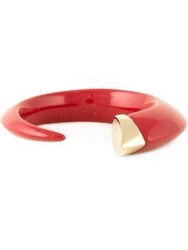 Shaun Leane 'Tusk' bangle - Red
