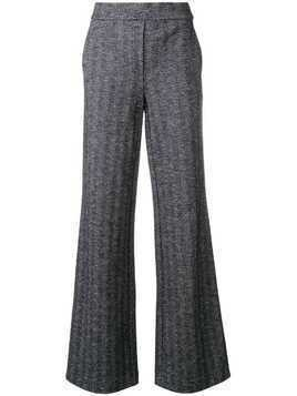 Theory high rise palazzo trousers - Blue