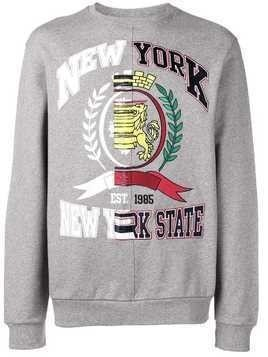 Hilfiger Collection fade-out college sweatshirt - Grey