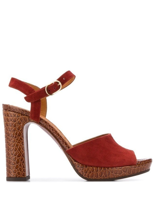 Chie Mihara Casette sandals - Red