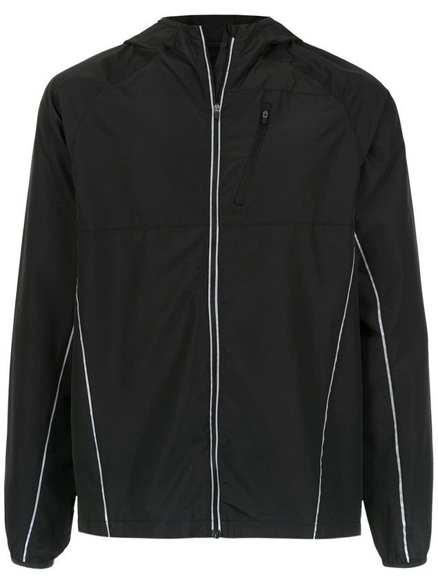 Track & Field hooded wind breaker - Black