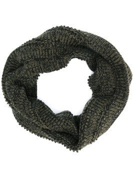 Forme D'expression chunky weave snood - Green