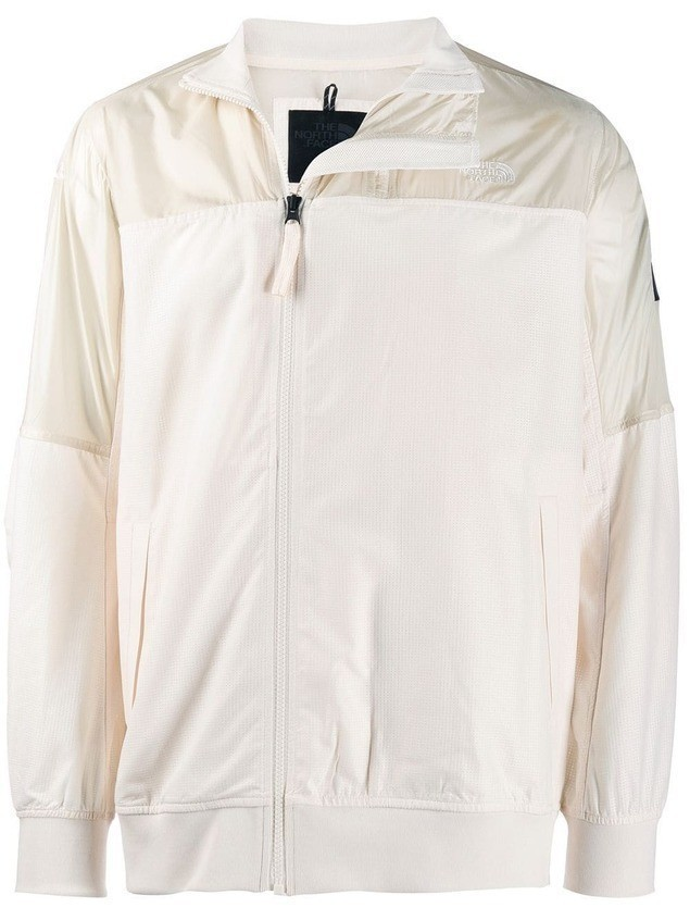 The North Face chest logo track jacket - White