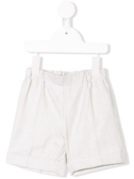 La Stupenderia casual tailored shorts - Grey