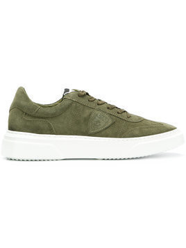 Philippe Model - Temple sneakers - Herren - Cotton/Leather/Suede/rubber - 45 - Green