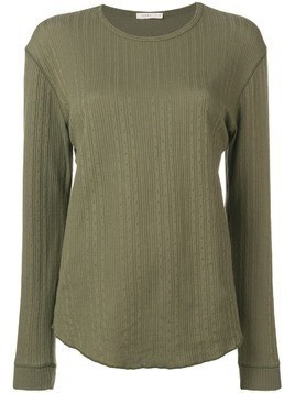 6397 ribbed lightweight sweater - Green