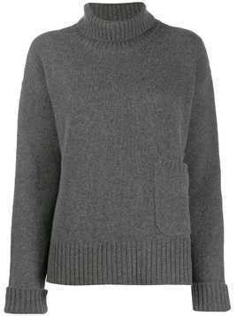 Lamberto Losani roll neck jumper - Grey