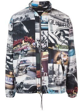 Adaptation photographic print lightweight jacket - Multicolour