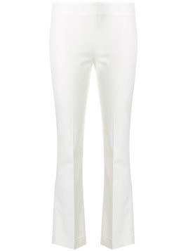 Meme classic cropped trousers - White