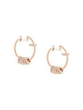 Apm Monaco small crystal earrings - Gold
