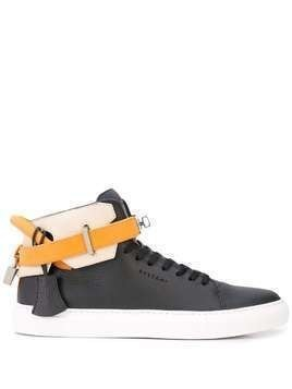 Buscemi 10mm ankle strap sneakers - Black