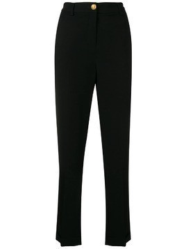 Cavalli Class high-waisted trousers - Black