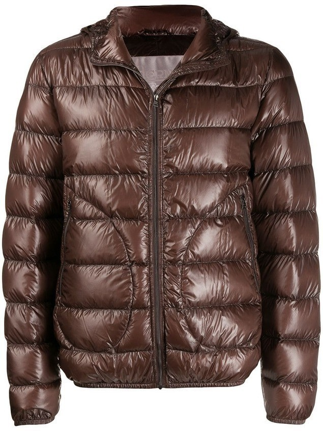 Herno quilted puffer jacket - Brown