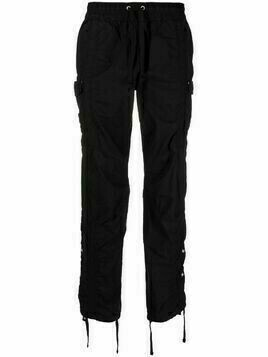 John Elliott straight-leg cargo trousers - Black