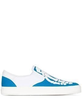Amiri Skeleton low-top sneakers - White