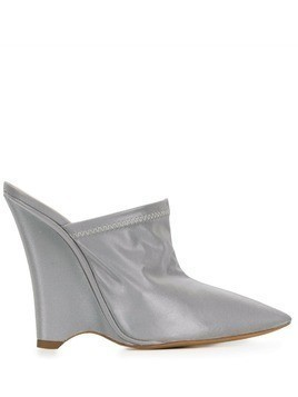 Yeezy 120 wedge mules - Silver