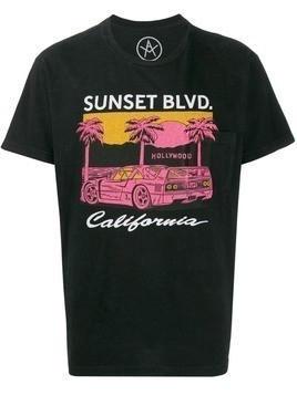 Local Authority Sunset Blvd T-shirt - Black