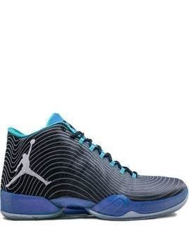 Jordan Air Jordan 29 Playoff Pack high-top sneakers - Black/White-Cool Blue-Photo Bl