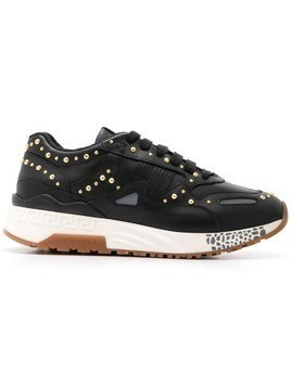 Versace studded sneakers - Black