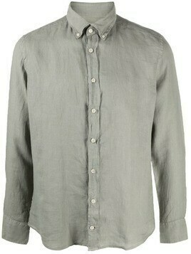 Hackett buttoned long-sleeve shirt - Green