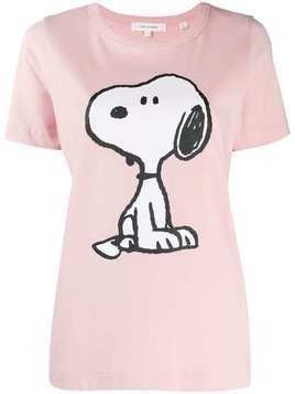 Chinti & Parker snoopy print t-shirt - Pink