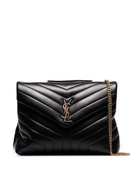 Saint Laurent medium Loulou quilted shoulder bag - Black