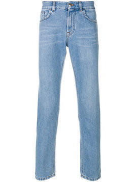 Versus - slim-fit jeans - Herren - Cotton/Polyester - 34 - Blue