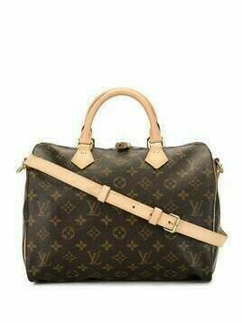 Louis Vuitton pre-owned Speedy 30 Bandouliere bag - Brown