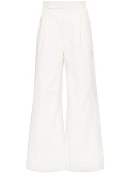 Goldsign palazzo wide-leg trousers - White