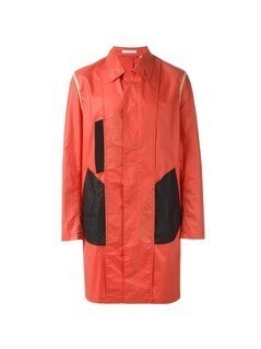 Helmut Lang Vintage colour block coat - Red