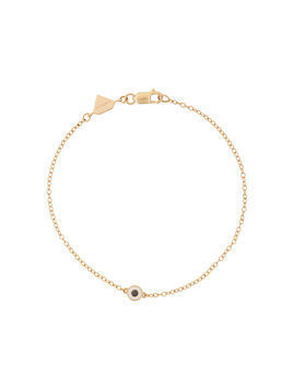 Alison Lou 14kt yellow gold Pepper diamond bracelet - Metallic