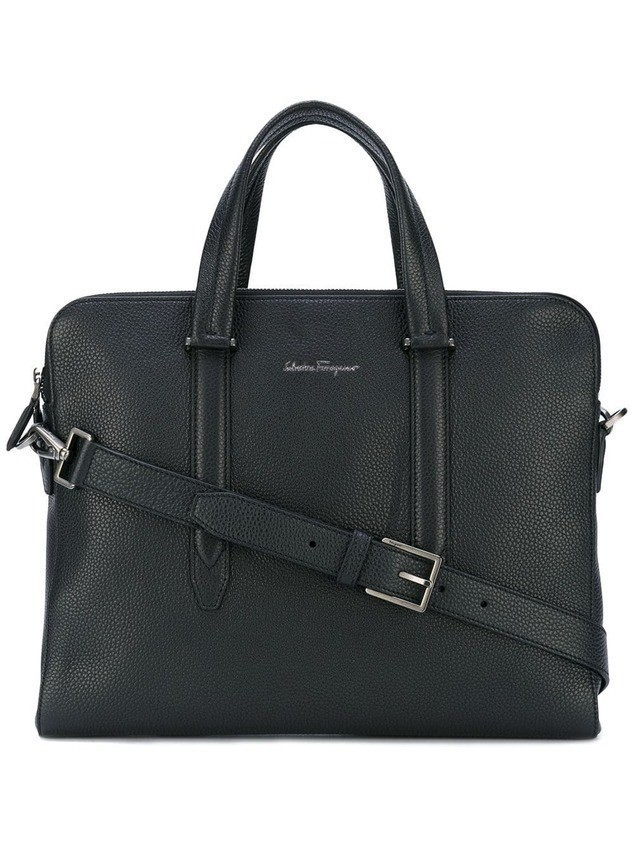 Salvatore Ferragamo classic briefcase - Black