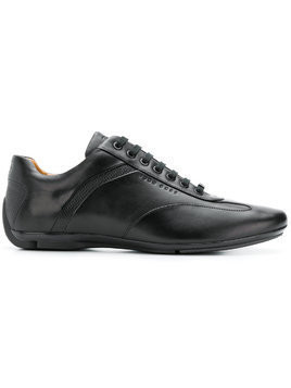 Boss Hugo Boss calf leather sneakers - Black