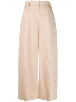 Tela wide leg flare trousers - Pink